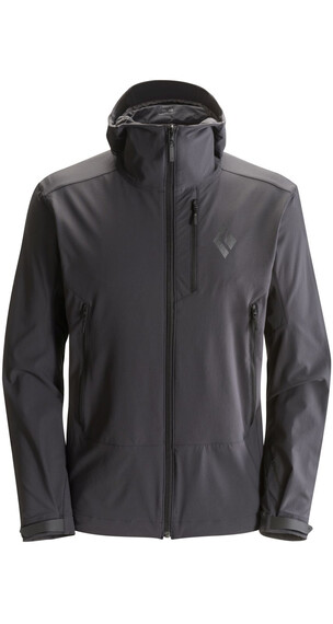 Black Diamond M's Dawn Patrol Shell Jacket Smoke